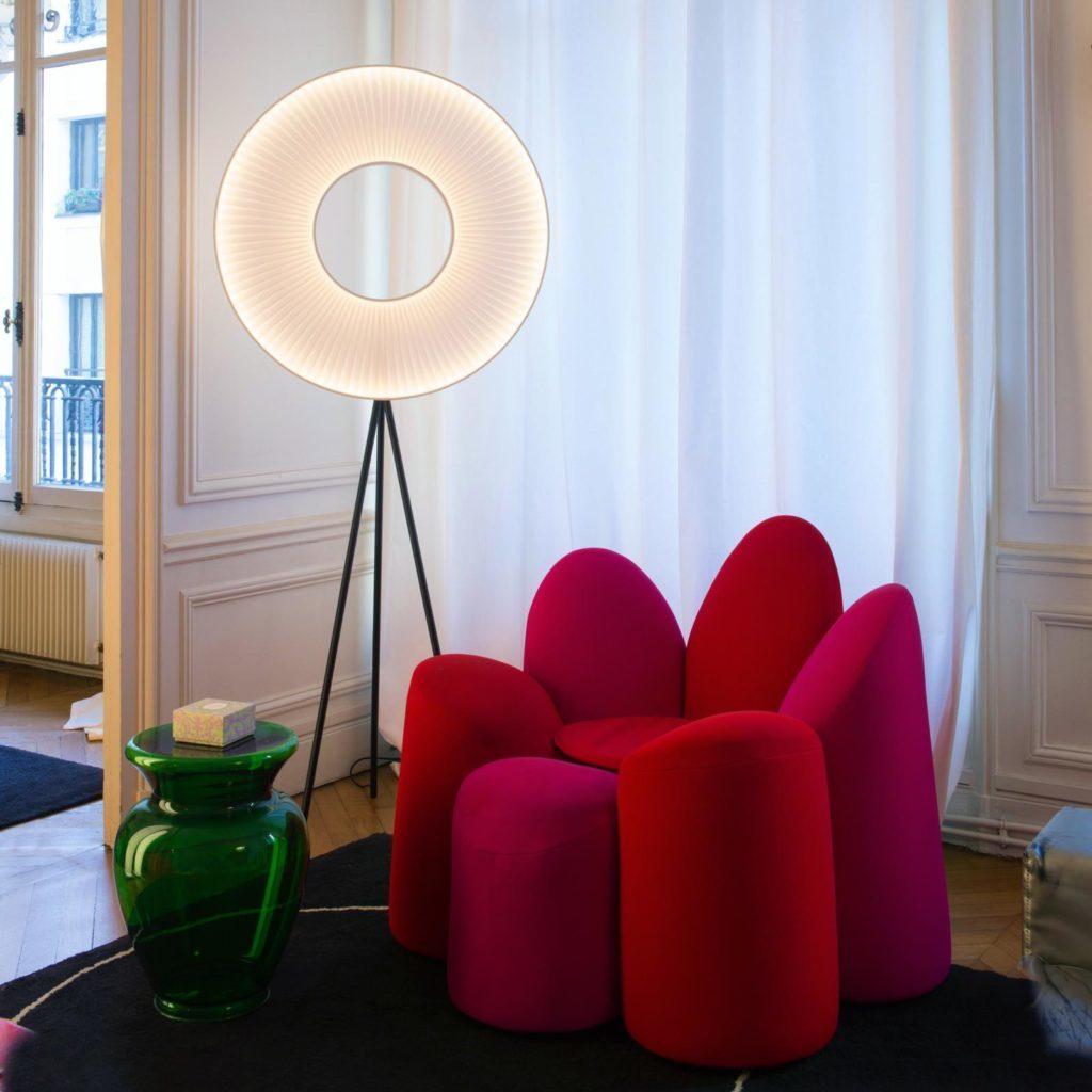 H590 lampadaire IRIS