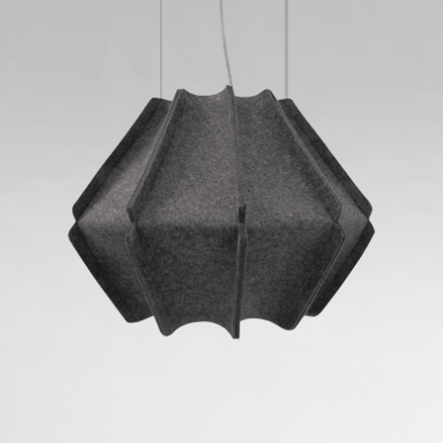 Suspension JOSEPH H446 finition anthracite - Design Ludovic ROTH