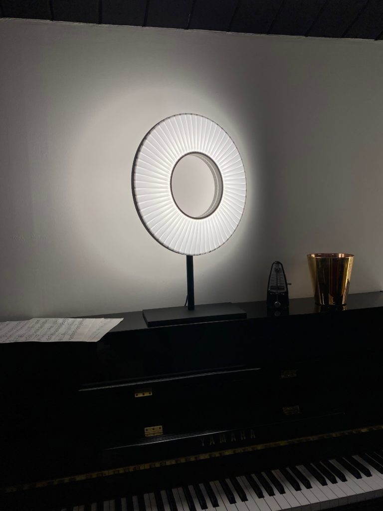 Lampe de chevet H627 blanc