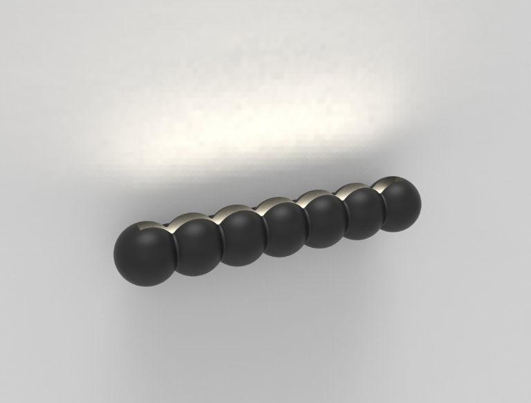 applique perles H709