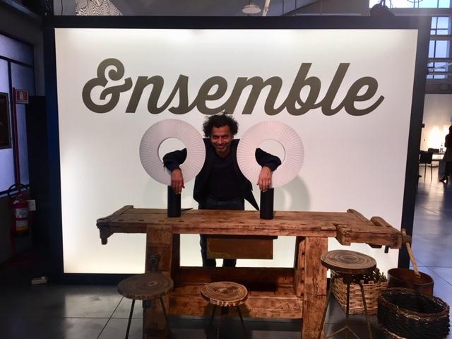 Fabrice BERRUX et IRIS lampes à Poser à ZEUS Milano