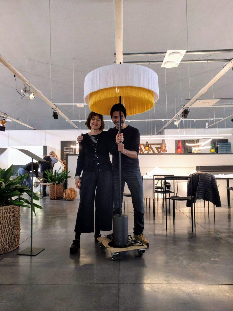 Nicoleta BAUCIA et Fabrice BERRUX à ZEUS Milano