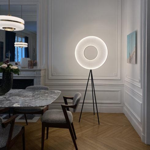 Lampadaire IRIS 70 ref.H592 - Design Fabrice BERRUX pour dix heures dix