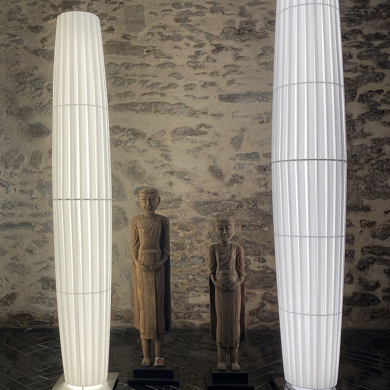 Lampadaire COLONNE LED ref.H168 - Design Fabrice Berrux