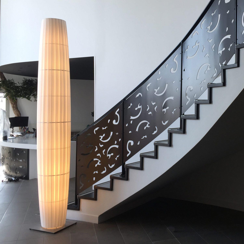 H199 Colonne 2.80m design by Fabrice BERRUX - Projet Cabinet GUEGUEN Associés - La Chapelle sur Erdre (44)