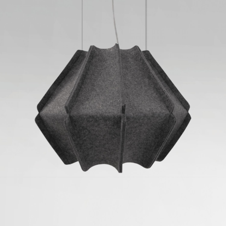 Suspension JOSEPH H446 finition anthracite - Design Ludovic ROTH