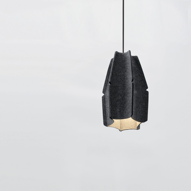 Suspension JOSEPH H447 finition anthracite - Design Ludovic ROTH