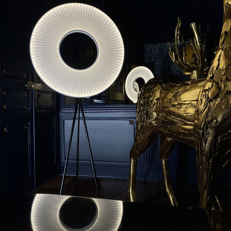 Lampadaire IRIS 70 ref.H592 - Design Fabrice Berrux