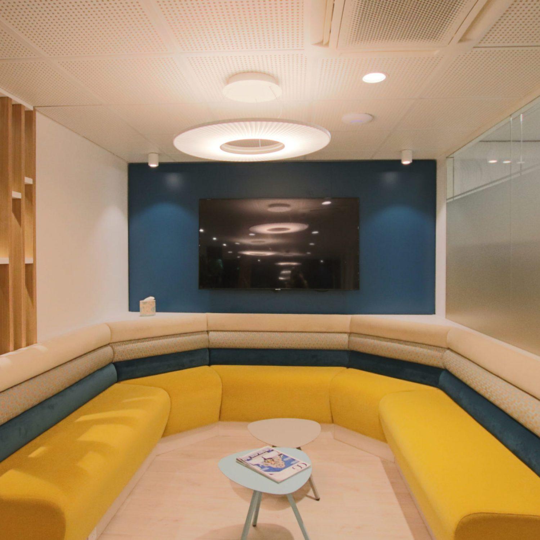 H596 IRIS - Cabinet chirurgical à Versailles - Prescription Denise Omer Design
