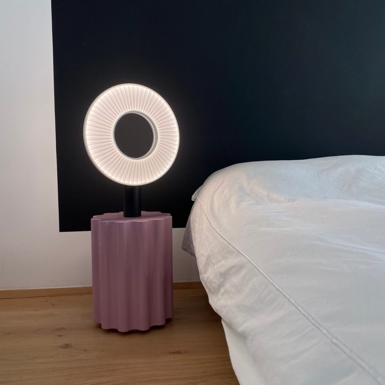 H625_IRIS Lampe a poser