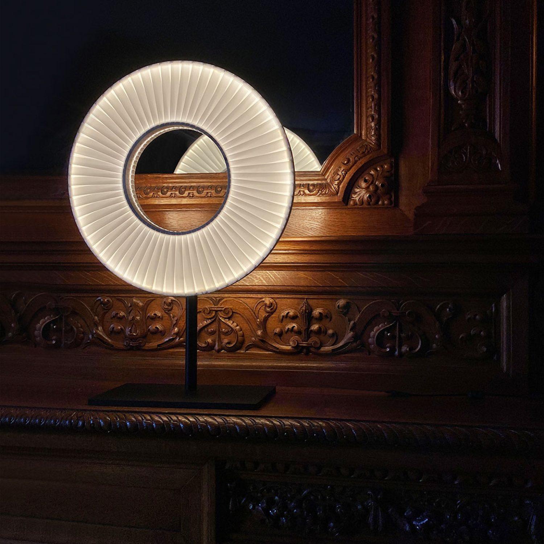 Lampe de chevet IRIS 40 ref.H627 - Design Fabrice Berrux