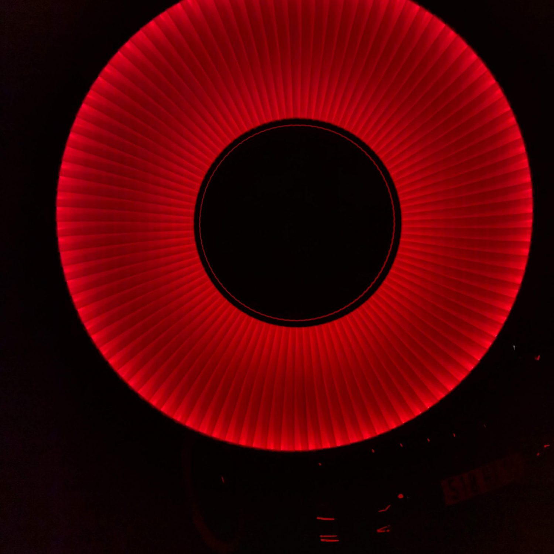 H629 lampadaire IRIS RGBW - Fabrice Berrux @ CNVA
