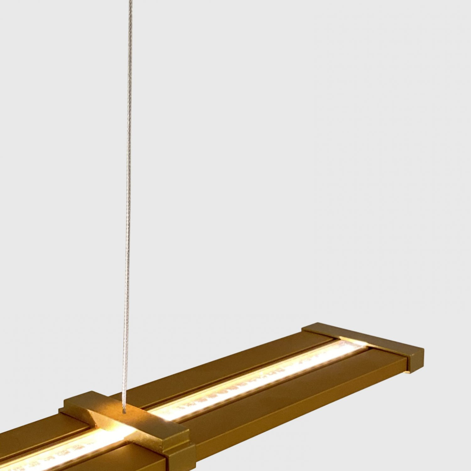 Suspension ZIG - H644 - finition Or