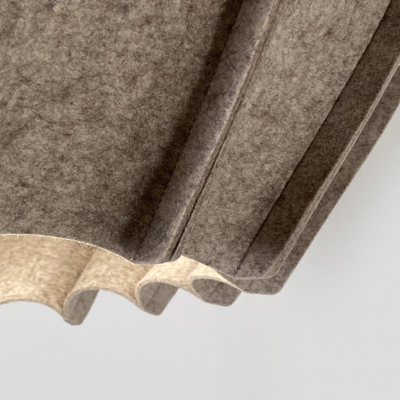 H446 JOSEPH Moyen Modèle finition Gris Clair - Design Ludovic ROTH