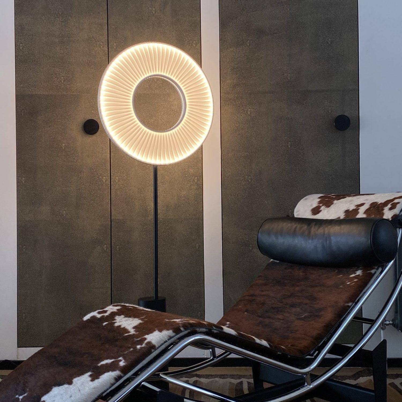 Liseuse IRIS ref.H628 - Design Fabrice BERRUX pour dix heures dix