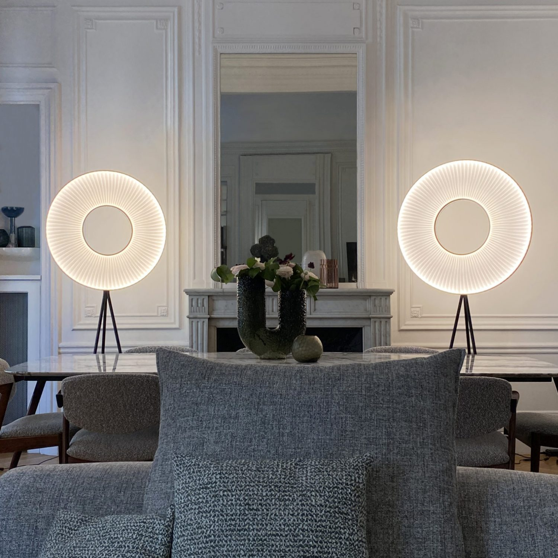 Lampadaires IRIS 60 &70 ref. H590 & H592 - Design Fabrice BERRUX pour dix heures dix