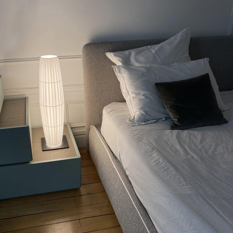 Lampe à Poser COLONNE H680 - Design Fabrice BERRUX pour dix heures dix