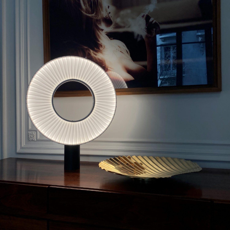 Lampe à Poser IRIS H625 - Design Fabrice BERRUX pour dix heures dix